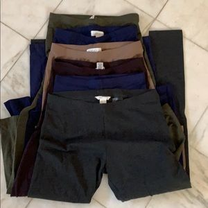 6 pairs of leggings